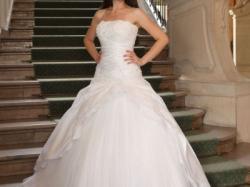 Sprzedam piękną, zwiewną suknię ślubną 2w1