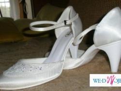 Sprzedam piękne, białe buty ślubne