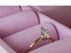 Sprzedam Piękny Pierścionek Zaręczynowy Z Brylantem Jak Nowy