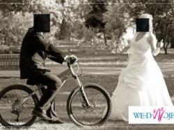 Sprzedam pięną suknię ślubną - zdobioną. Rozmiar 39/40