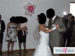 Sprzedam pilnie śnieżnobiałą suknie ślubną