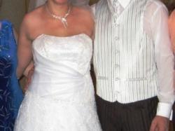 sprzedam PILNIE suknię ślubną rozm 42