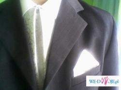 sprzedam popielaty krawatnik  dla pana młodego - Tarnów 40 zł