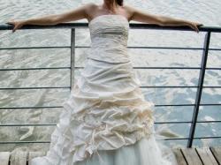 Sprzedam przepiękną, dwuczęściową suknię ślubną z kolekcji AGNES!!