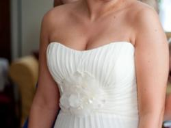 Sprzedam przepiękna jednoczęściowa suknie ślubna model Sweetheart 5928 .