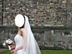 Sprzedam przepiękną, koronkową suknię ślubną!