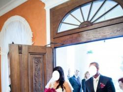 Sprzedam przepiękna, oryginalną suknie ślubną 42/44