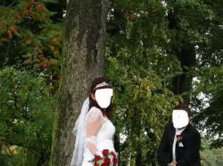 sprzedam przepiękną siknię ślubną