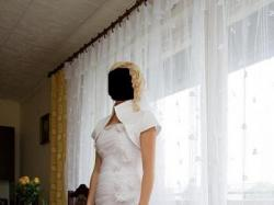 Sprzedam przepiękną sukienkę ślubną 36