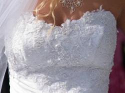sprzedam przepiękną suknię ślubną!!