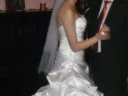 Sprzedam przepiękną  suknię ślubną Allure Bridals Model P896, rozmiar 36/38