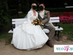 Sprzedam przepiękną suknię ślubną angielskiego projektanta Ronalda Joyce
