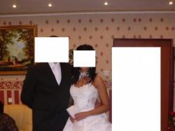 Sprzedam przepiękną suknię ślubną Białą Mateja 640