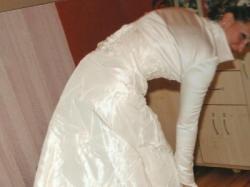 Sprzedam przepiękną suknie ślubną dwu częściową