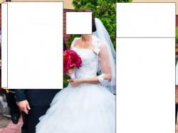 SPRZEDAM Przepiękną suknię ślubną firmy HERMS model Gaylenne