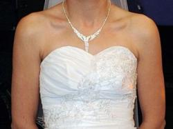 Sprzedam przepiękną suknię ślubną, gratis bolerko