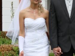 Sprzedam przepiękną suknię ślubną!!!jedyną w swoim rodzaju...