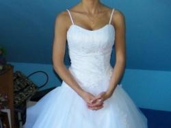 Sprzedam przepiękną suknię ślubną Miss Kelly Litchi