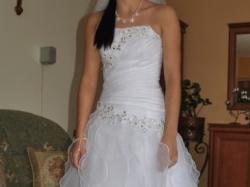 """Sprzedam przepiękna suknię ślubną MS Moda """" India"""""""