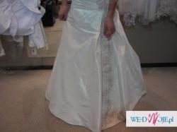 Sprzedam przepiękną suknie ślubną Sposabella 557