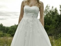 Sprzedam przepiękną suknię ślubną White One Trieste