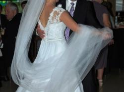 Sprzedam przepiękną suknię ślubną wzór Nabla Florella (biała)