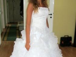 Sprzedam przepiękną suknię ślubną za niewielkie pieniądze!