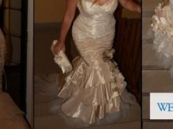 Sprzedam przepiękną suknię z sSalonu Urszula Mateja 604 Roz. 38- 40