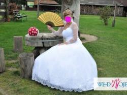 Sprzedam prześliczą suknie typu księżniczka