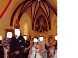 sprzedam prześliczną białą suknie ślubną