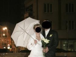Sprzedam prześliczną śnieżnobiałą suknię ślubną.