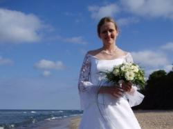 Sprzedam prześliczną suknię ślubna