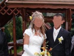 Sprzedam prześliczna suknie ślubną.