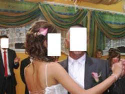 """Sprzedam prześliczną suknię ślubną ''Apfrodite"""" 36/38."""