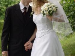 Sprzedam prześliczną suknię ślubną francuskiej firmy MARIEES DE PARIS !