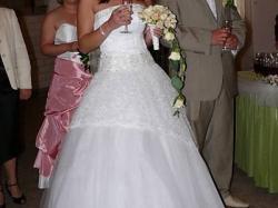 Sprzedam prześliczną suknie ślubną Manhattan z kolekcji SPOSA używana tylko raz!