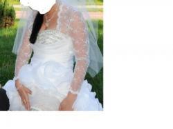 sprzedam prześliczną suknie ślubną typu: hiszpanka z kolekcji Urszula Mateja
