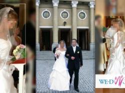 Sprzedam prześliczną suknię ślubną z salonu Julia Rosa