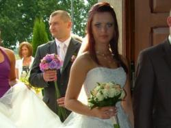 Sprzedam prześliczną tiulową suknie ślubną