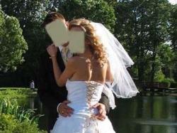 sprzedam romantyczna suknię ślubną R38