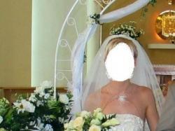 Sprzedam romantyczną suknię ślubną roz. 36.
