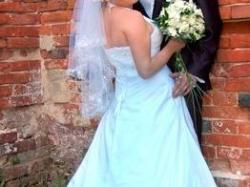 Sprzedam śliczą suknię ślubną rozm 38-40
