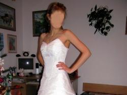 Sprzedam śliczną białą suknię