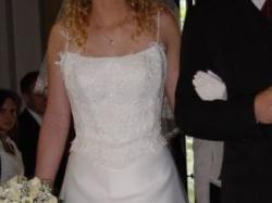 Sprzedam śliczną francuską suknię ślubną!