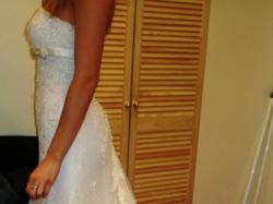 Sprzedam śliczną  koronkową suknie slubna NALON z kolekcji 2008 Pronovias