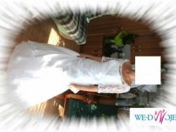 Sprzedam śliczną, skromną suknię ślubną