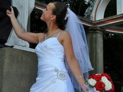 Sprzedam śliczną,skromną suknie ślubną!!!!!!!!!!!!!!!