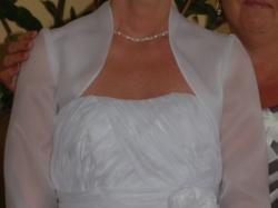 Sprzedam śliczną, śnieżnobiałą suknie ślubną, roz.36-38