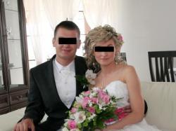 Sprzedam śliczną stylową suknię ślubną rozm. 36/38
