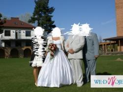 sprzedam śliczną sukienkę ślubna